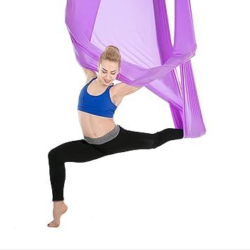 WSXX Hamaca Aérea para Yoga, Cinturón Elástico Invertido ...