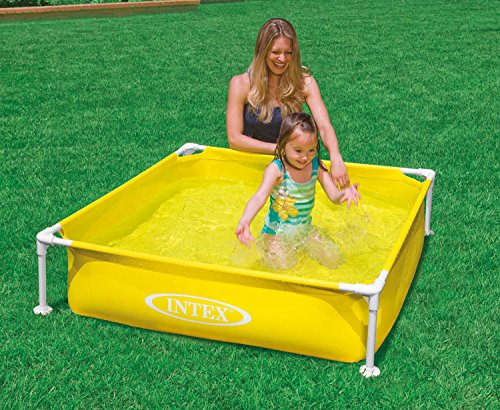 intex mini frame pool yellow buy online in uae sports products in the uae see prices. Black Bedroom Furniture Sets. Home Design Ideas