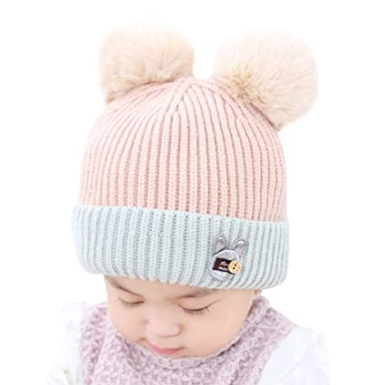 ce3b8c79e Amazon.com: Gbell Baby Kids Winter Warm Knitted Hats,Infant Soft ...