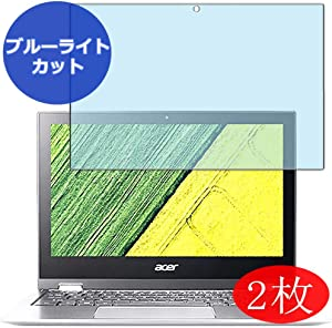 """【2 Pack】 Synvy Anti Blue Light Screen Protector for Acer Spin 1 SP111-32N-A14P 11.6"""" Anti Glare Screen Film Protective Protectors [Not Tempered Glass]"""