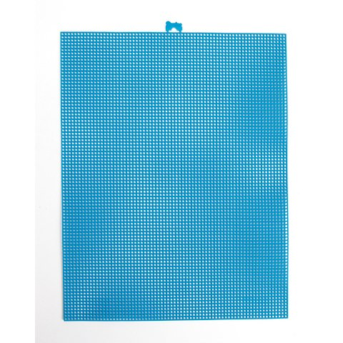 Better Crafts PLASTIC CANVAS SEAGLASS BLUE 7MESH 10.5X13.5 (12 pack) (033900-400) by Better crafts