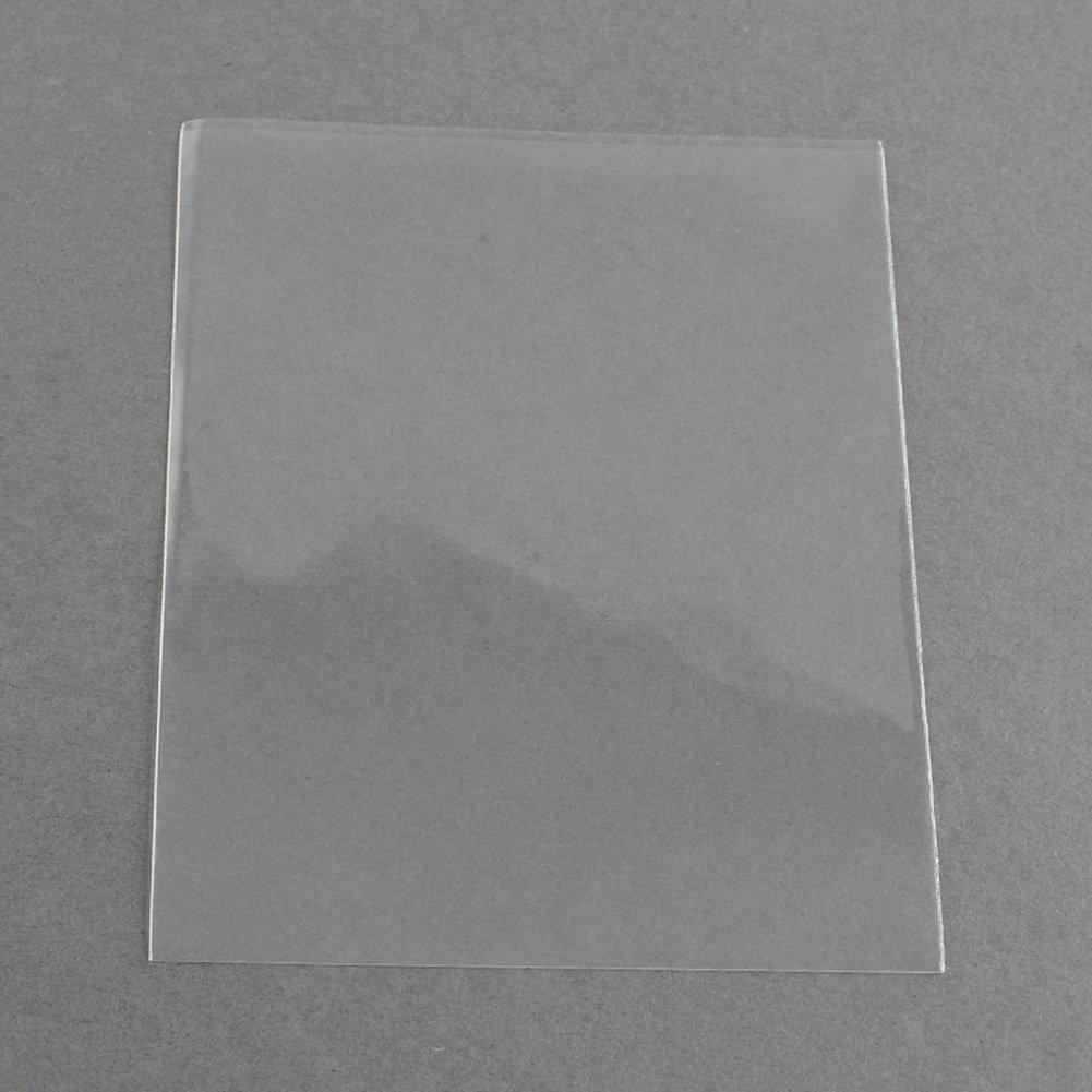 nBeads 1000pcs Oppセロファンバッグ、長方形、クリア、10 x 8 cm B079GW5Q4Y