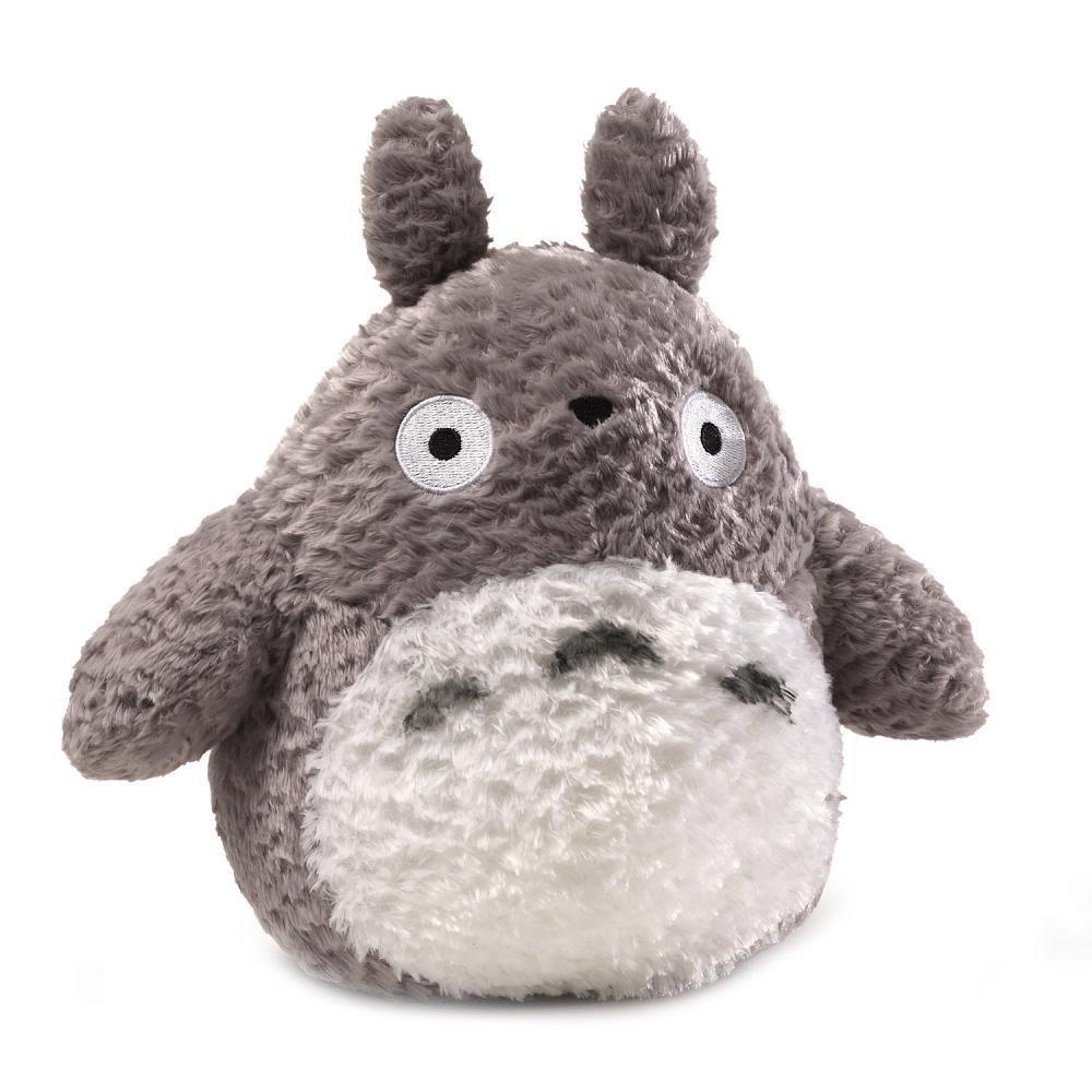 Amazon.com  GUND Fluffy Totoro Stuffed Animal Plush in Gray e95fbec64656