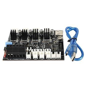 FYSETC Controlador de impresora 3D, placa base Cheetah 32 bits V1 ...