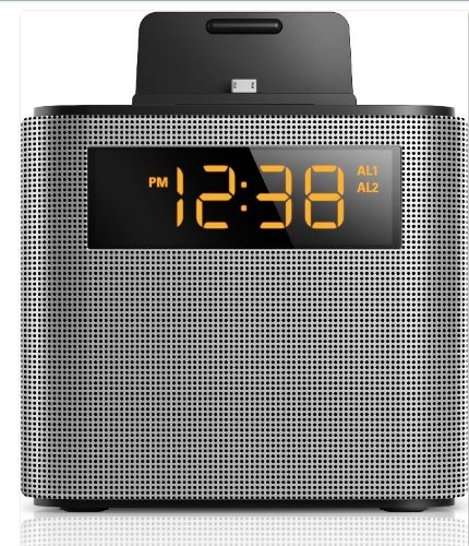 Amazon.com: Philips Clock Radio AJT5300 Bluetooth Universal Charging Dual Alarm Fm, Digital Tuning and Speaker Dock for Speakerphone Microphone: Electronics