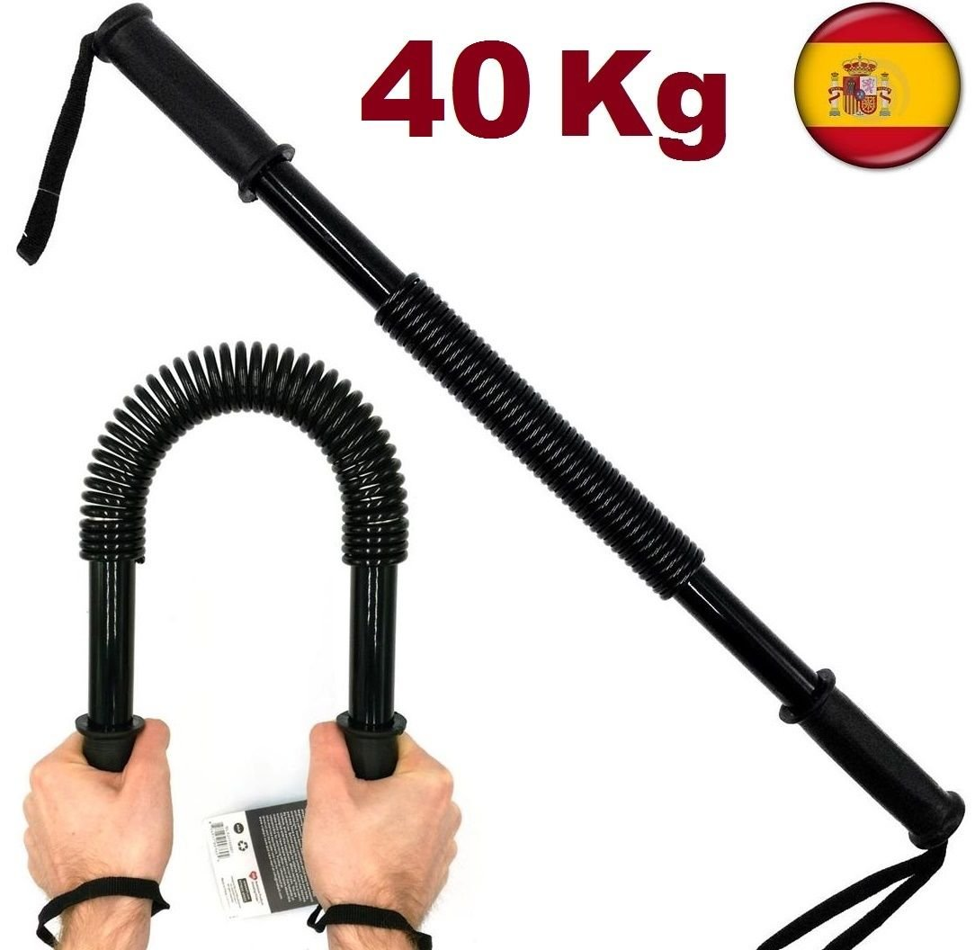 POWER TWISTER Barra de Torsion 40 Kgs para musculacion Pesas