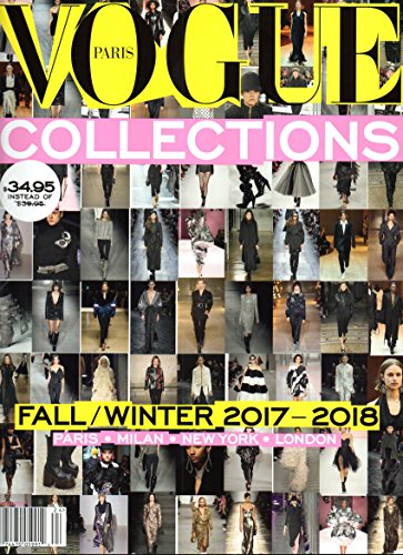 Vogue Paris Collections Magazine (Fall/Winter 2017-2018) - Playboy Outfits Uk