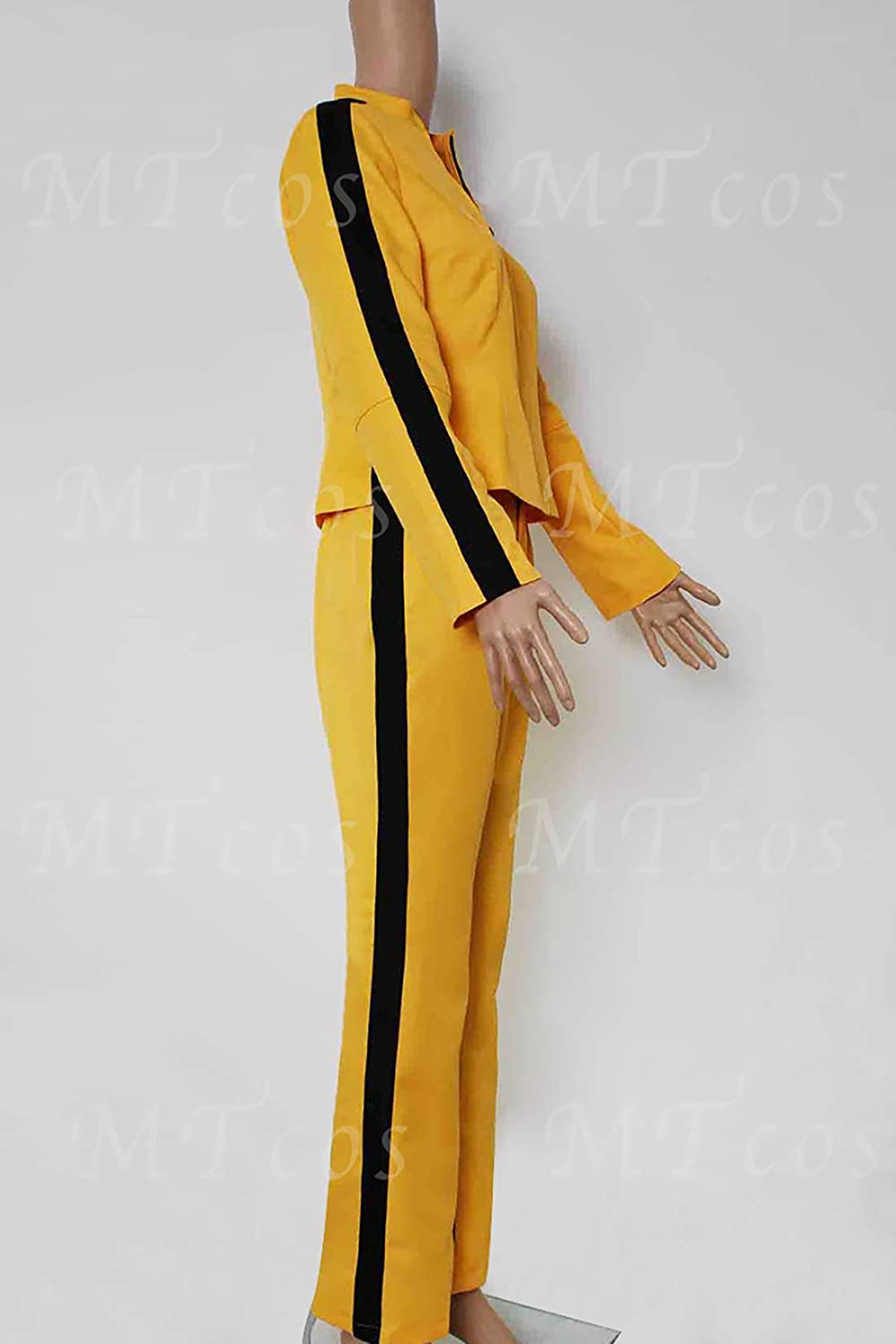 DEREN Kill Bill Cosplay The Bride Beatrix Michelle Kiddo - Abrigo ...
