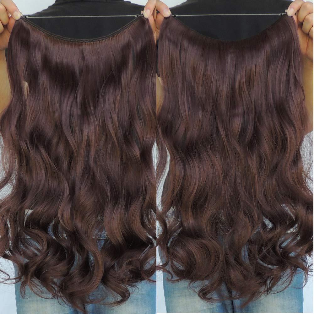 Amazon Sarla 14 Wavy 43oz Synthetic Wavy Halo Hair Extension