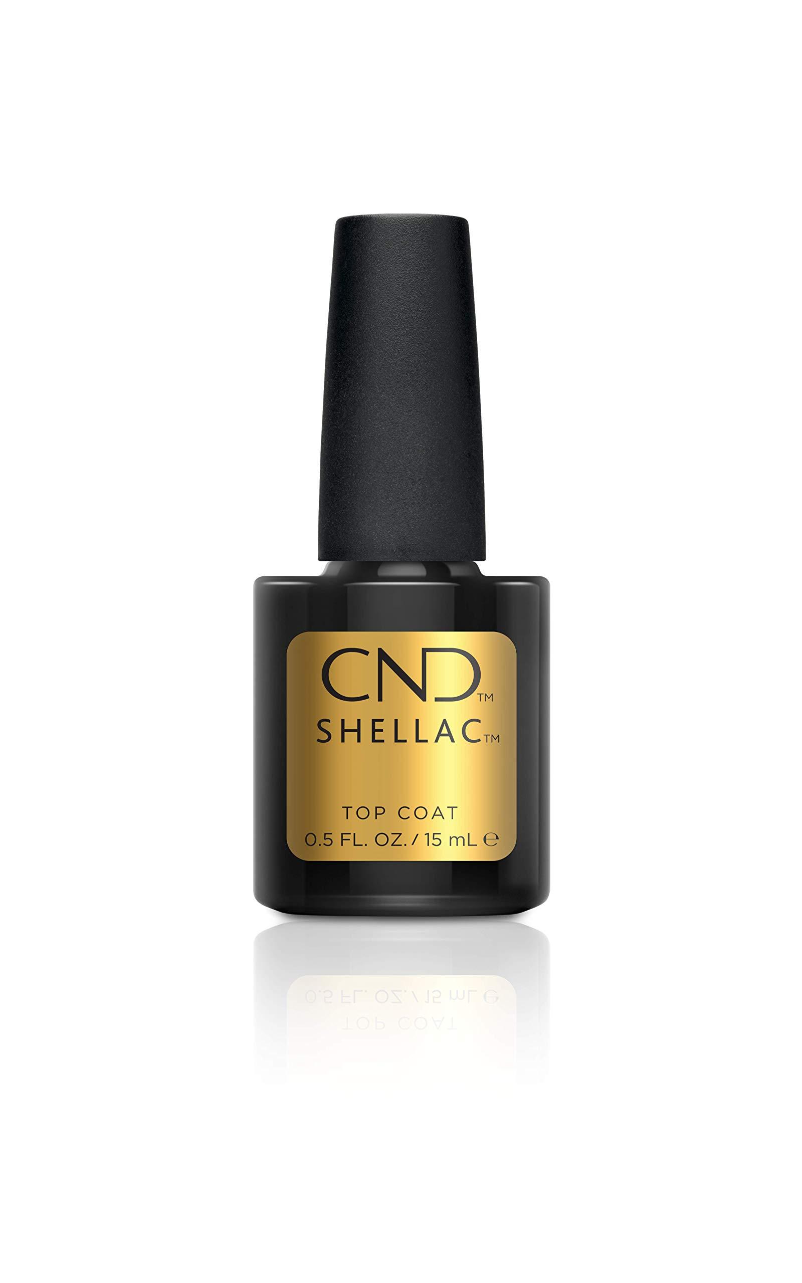 CND Shellac Top Coat Nail Polish, 15 ml