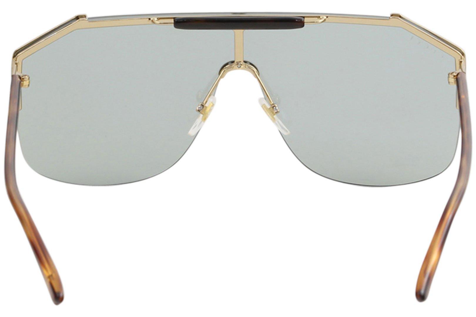 77357143 Gucci GG0291S Mens Metal Shield Sunglasses