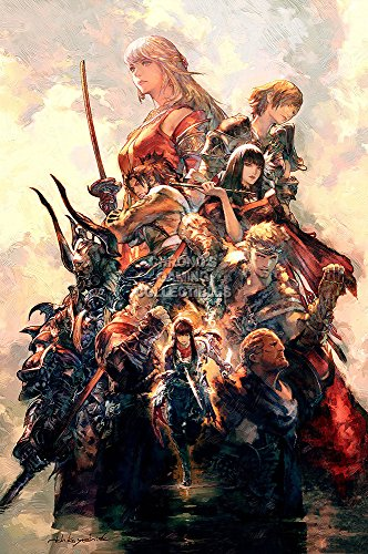 "CGC Huge Poster GLOSSY FINISH - Final Fantasy XIV Online Stormblood PS4 XBOX ONE - EXT752 (24"" x 36"" (61cm x 91.5cm))"