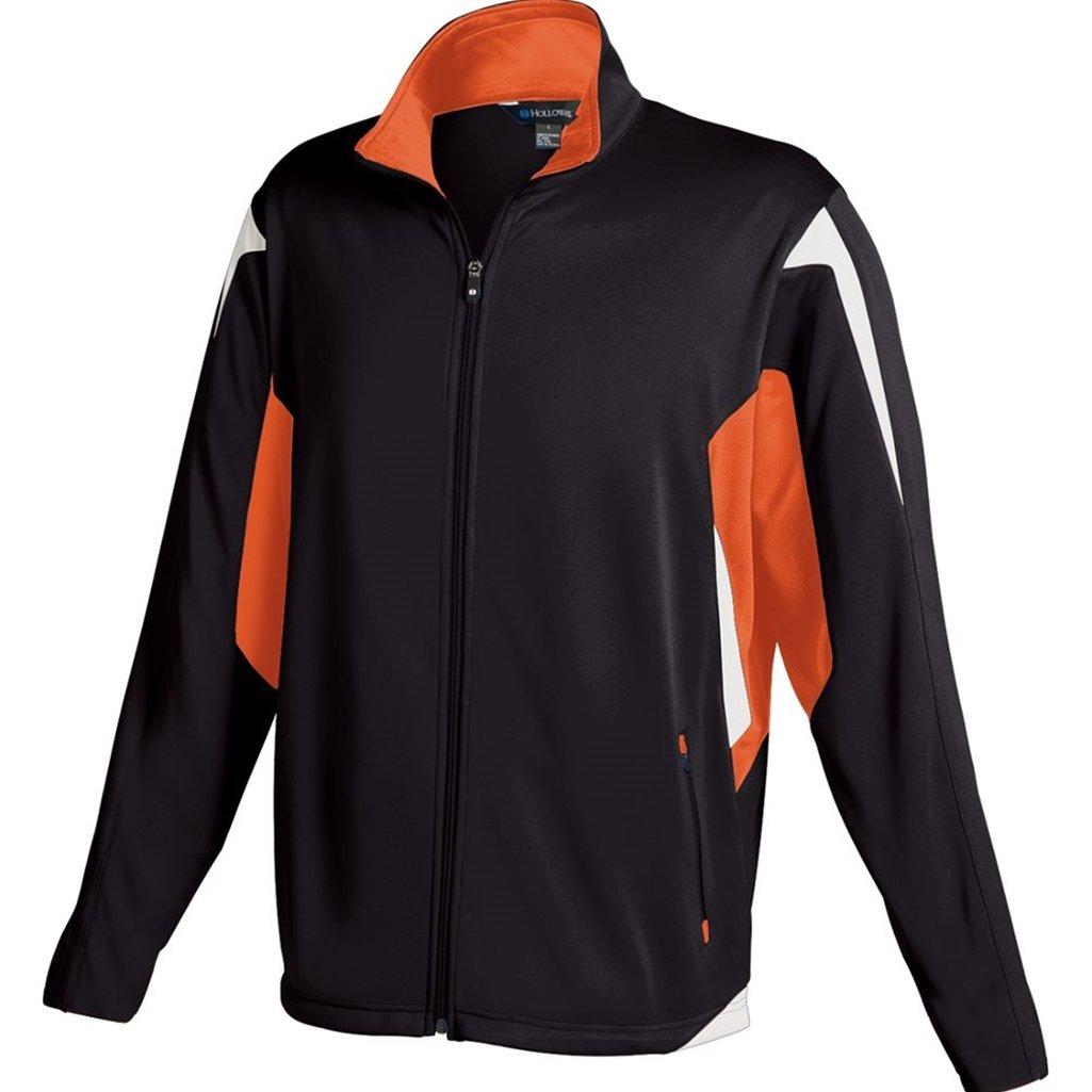 Holloway Youth Dedication Jacket (Small, Black/Orange/White)