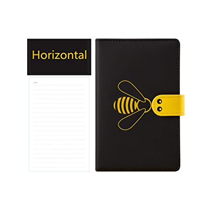 Amazon.com : Kawaii Notebook Agenda Bee A6 Annual Monthly ...