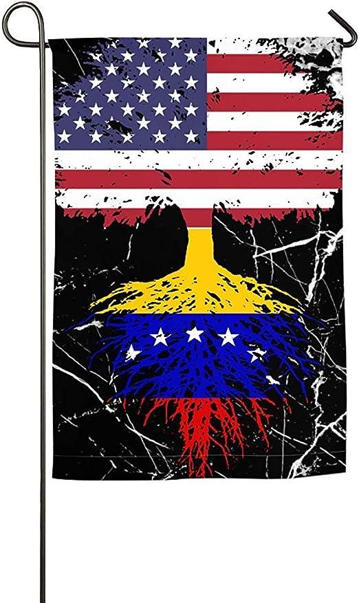 EW-OL Venezuela Bandera Americana Árbol de la Vida Jardín Bandera Impreso Bandera Interior Primavera Verano Bandera: Amazon.es: Jardín