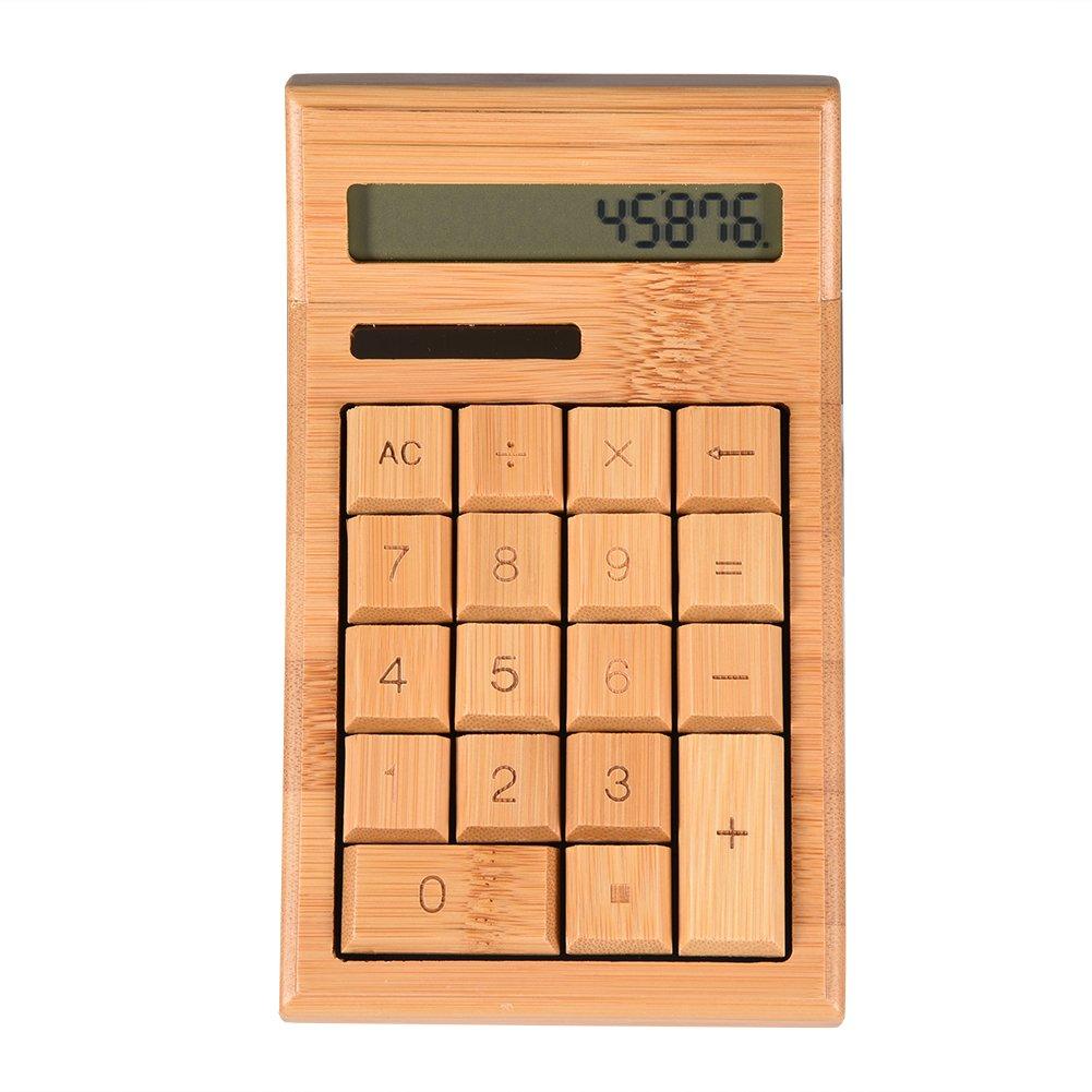 Calculadora Científica Grande de Bambú