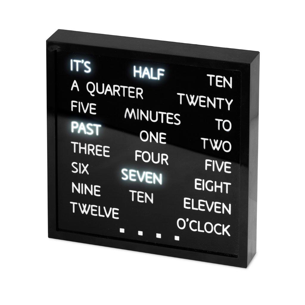 Balvi B ON - Words elektronischen tischuhr tischuhr tischuhr 661acc