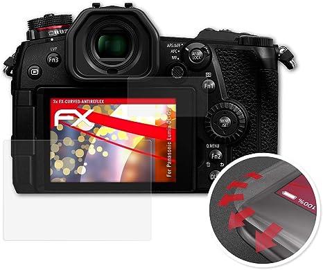 Atfolix Schutzfolie Kompatibel Mit Panasonic Lumix Dc G9 Folie Entspiegelnde Und Flexible Fx Displayschutzfolie 3er Set Elektronik