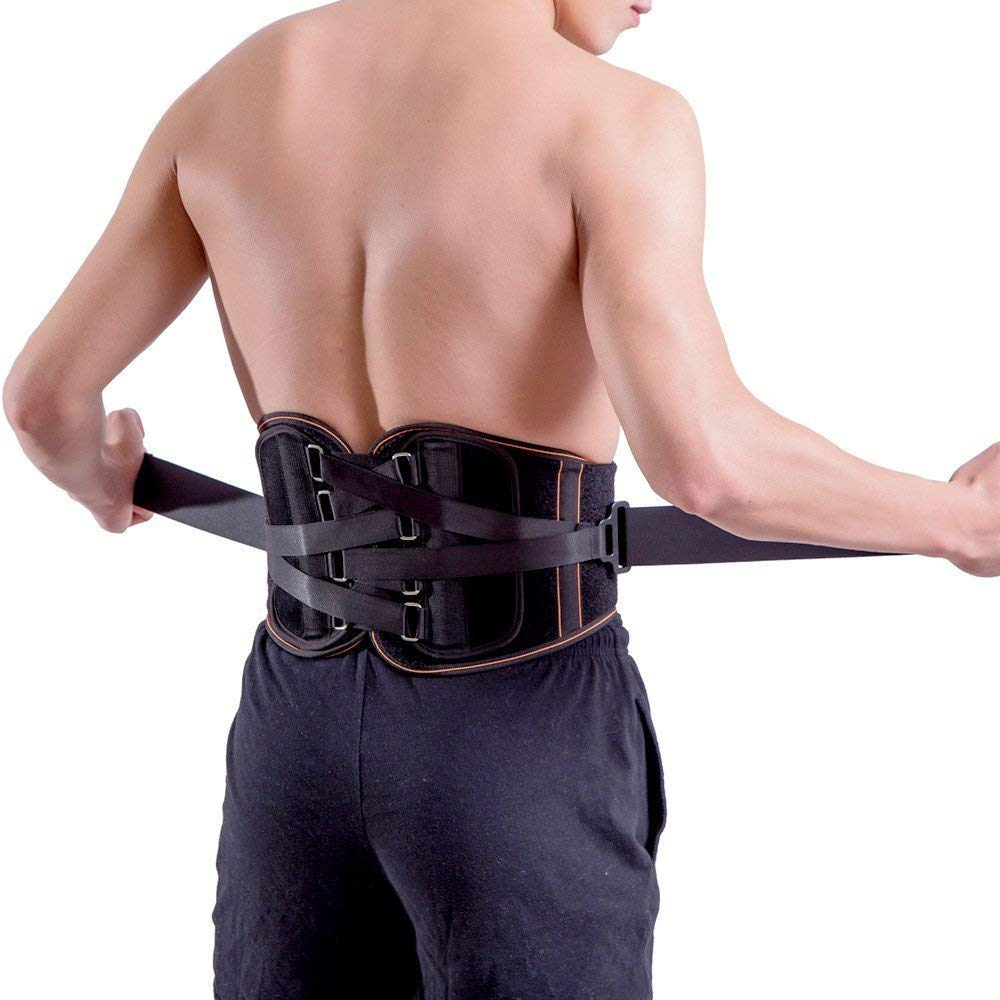 Amazon King Of Kings Lower Back Brace Pain Relief With Pulley