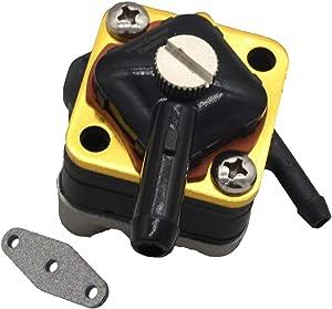 Notonparts Fuel Pump 18-7350 395091 397274 for 2000 Johnson Evinrude Outboard Engine 8 hp E8DRSSM E8WRLSSC E8WRSSC10 hp E10EL4SSE E10EVL4SSS E10R4SSE E10RL4SSE E10RV4SSS E10RVL4SSS
