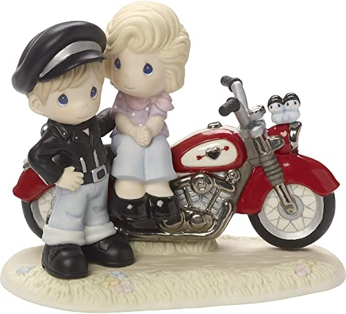 Precious Moments, You re My Road To Happiness, Limited Edition, Bisque Porcelain Sculpture, 164001