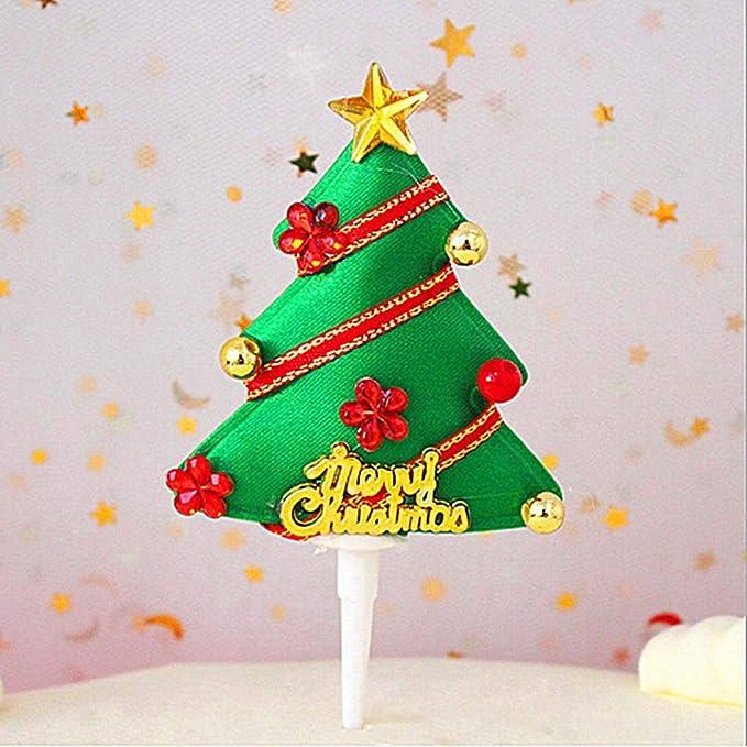 BJ-SHOP Adorno de /árbol de Navidad Campanas de /Árbol de Navidad Campanas Colgantes Navidad 3,5 CM 6 Piezas