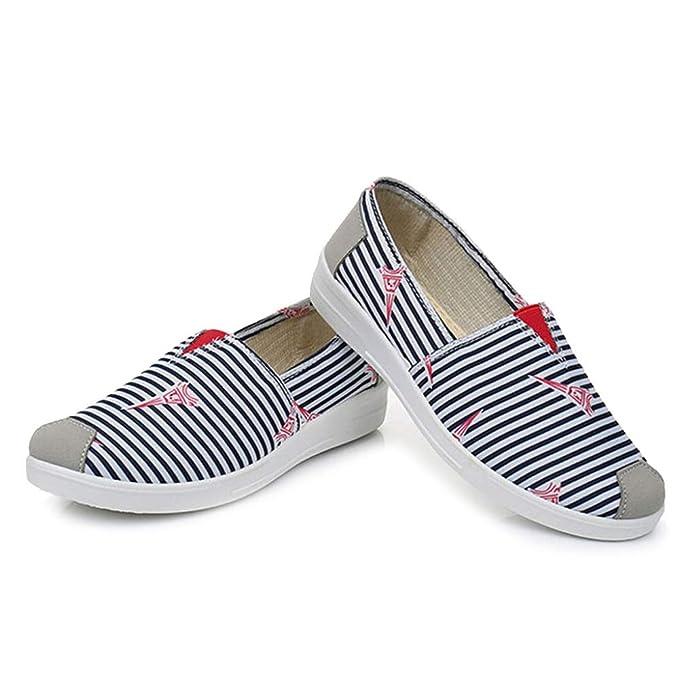 Zapatos Perezosos Para Mujer Alpargatas Zapatillas Planas Transpirables CóModas Alpargatas Planas Zapatos Casuales: Amazon.es: Ropa y accesorios