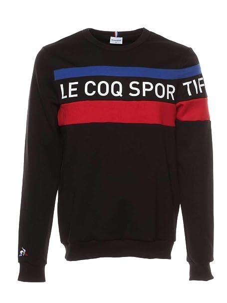 Le Coq Sportif 1822201-TRI-CREW-SWEAT-N5 Sudadera Hombre Negro S