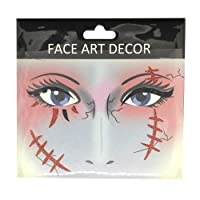 Bangle009 Big Promotion Face Decor Glitter Temporary Tattoo Stickers Halloween Party Stage Makeup Prop