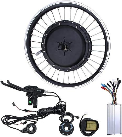 BTIHCEUOT Kit de Motor de Bicicleta eléctrica E-Bike Conversion ...