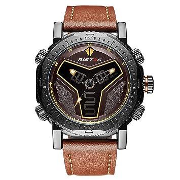 SW Watches RISTOS Cronógrafo Relojes Deportivos Reloj De Pulsera Analógico Digital para Hombres Relojes Multifunción De
