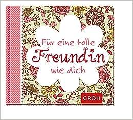 Für Eine Tolle Freundin Wie Dich Geschenkbuch Für Die Beste