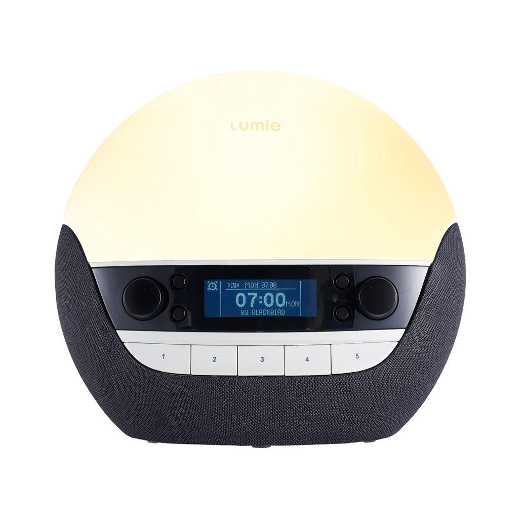 Lumie Bodyclock Luxe 700 - Wake-up Light with Bluetooth Audio and Low-Blue Sleep Light LUMA4 NBCLU-0000