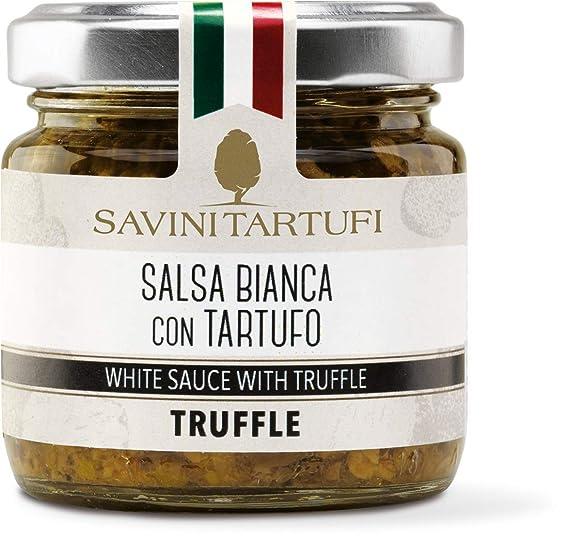 Savini Tartufi - Salsa blanca con trufa blanca 90 gr