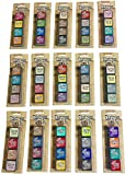 Ranger Tim Holtz Distress Mini Ink Pad Kits - #1-15, Super Bundle of all 60 Colors