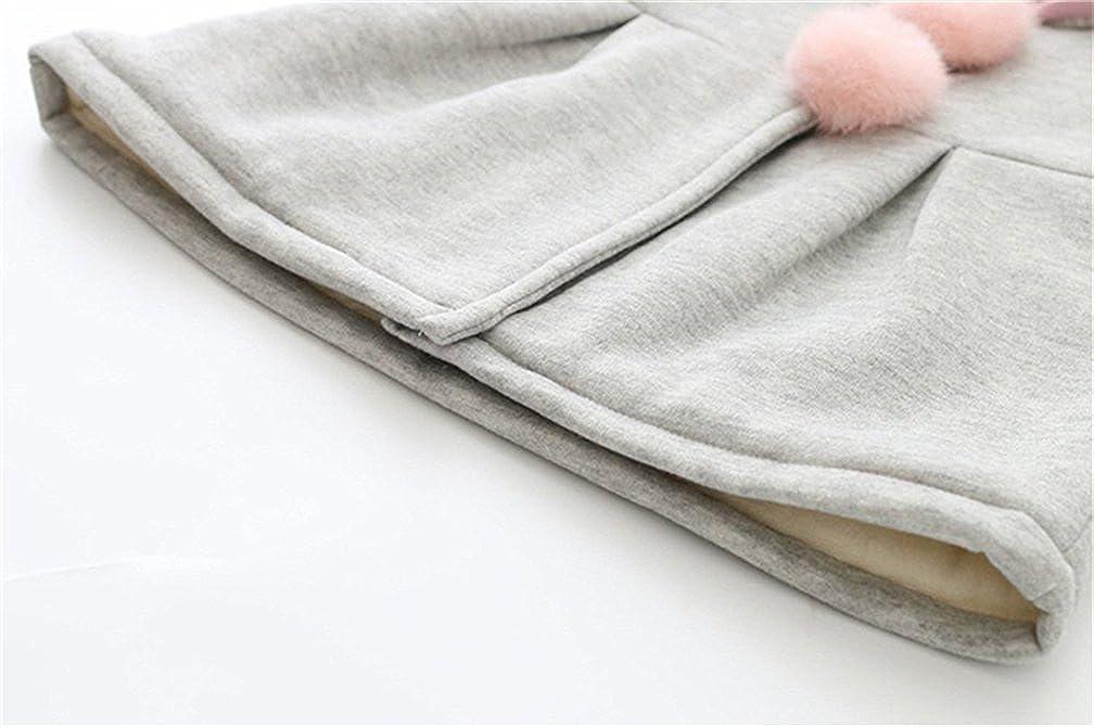 TMEOG Baby M/ädchen M/äntel aus Baumwolle Fr/ühlung Herbst Winter Jache mit Kapuze Kleinkinder warm Kleidung
