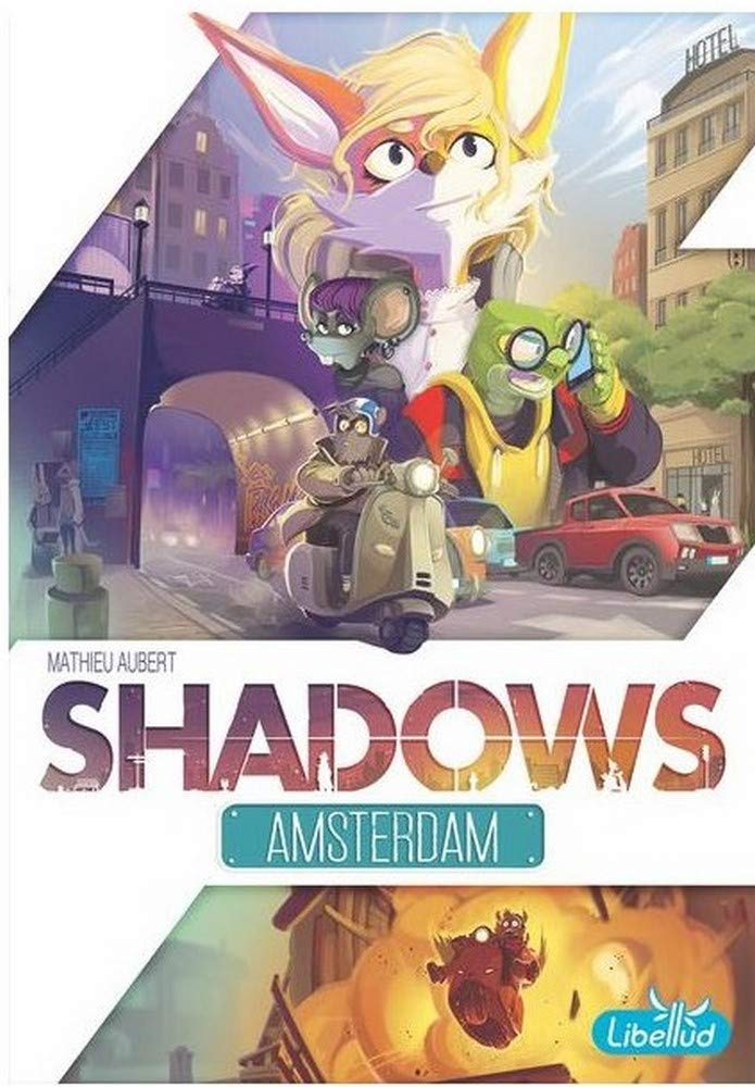 Asmodee Italia Shadows Amsterdam Juego de Mesa, Color Blanco, libsham01it Libellud