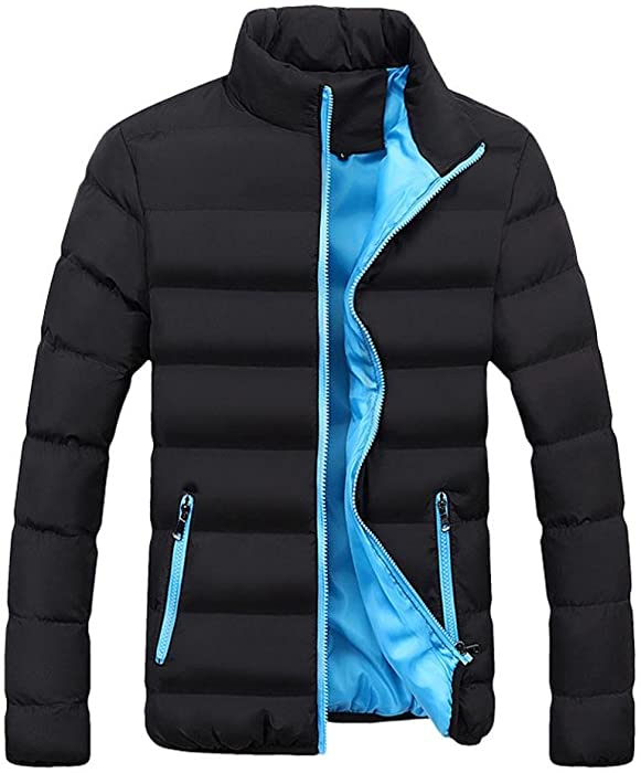 Abrigo para Hombre Invierno ♚Btruely Herren Chaqueta Caliente cálido Slim Fit Abrigo Gruesa Capa de Burbuja Casual Chaqueta Parka Prendas de Vestir