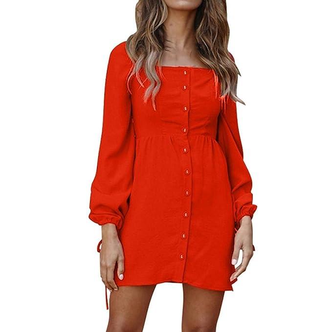 best service 5f459 8a3f1 CLOOM Vestito Donna Elegante, Abito Vintage Donna Vestito ...
