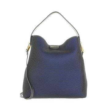 Coccinelle Becky RETE Handbag Nero Blu Nero In Blue And Black  Amazon.co.uk   Luggage 401705d96bf6d
