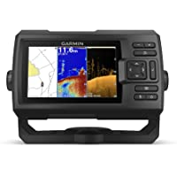 "$279 » Garmin Striker Plus 5cv with Transducer, 5"" GPS Fishfinder with CHIRP Traditional and ClearVu…"