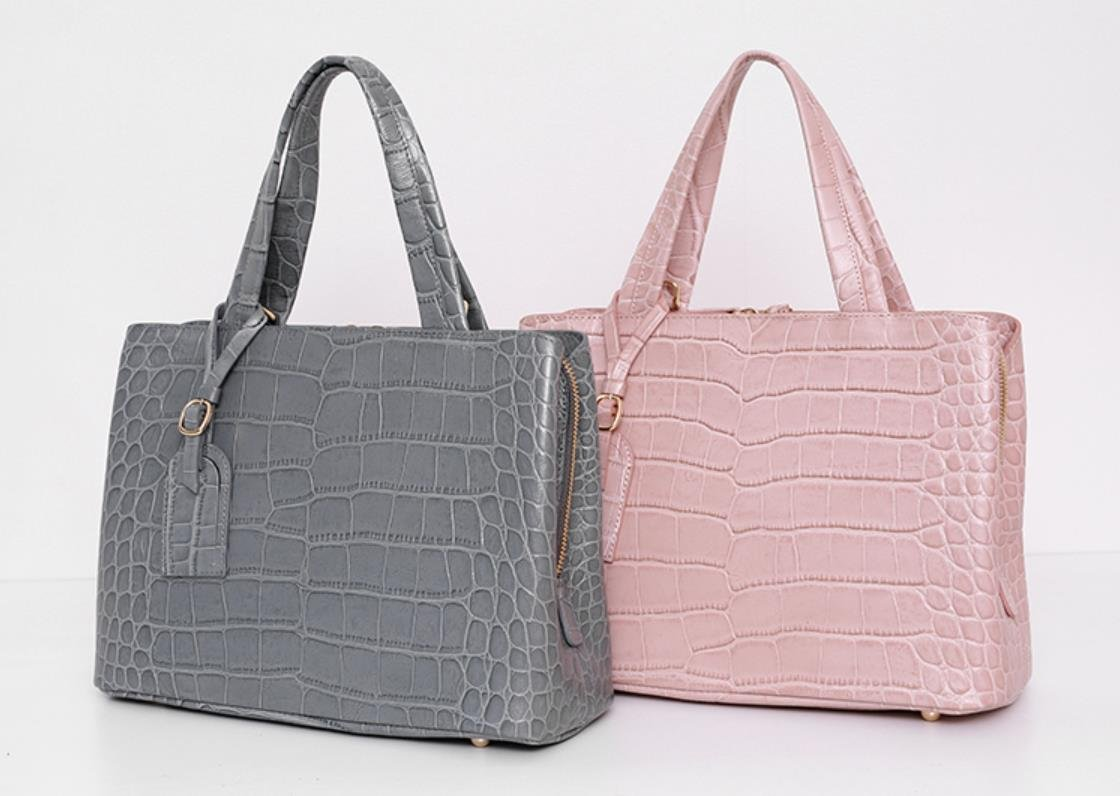 Bellina Wani Tote Shoulder Bag BB1218 (Pink) by Pristine&BB (Image #3)