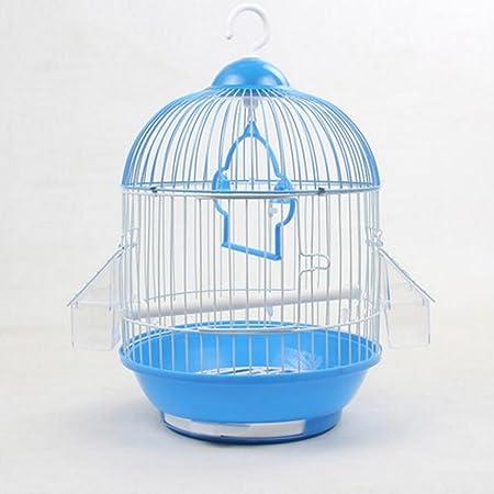 MIAOLIDP Jaula de pájaro Piel de Tigre Jaula de pájaro pequeña ...