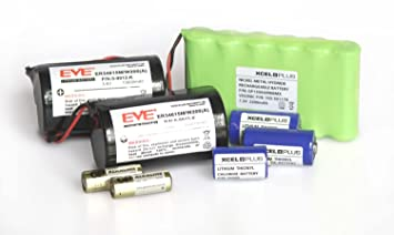 Visonic Extended Life alarma PowerMax Pro recargable Pack Inc 103 – 301179, 0 – 9912