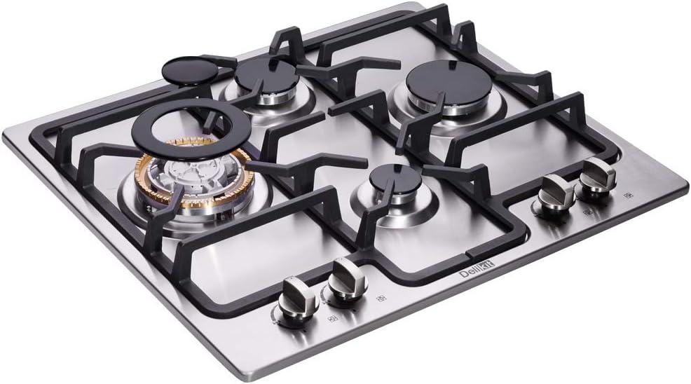 Amazon.com: cocina gas 4 quemadores: Aparatos