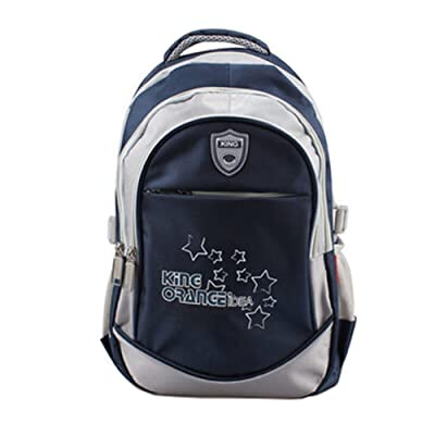 Préscolaire / Elementary School Backpack Kid enfants Sac à dos, bleu foncé