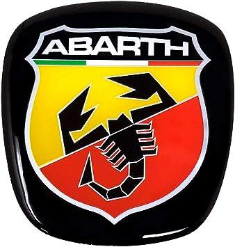 Abarth 21548 3d Aufkleber Offizielles Schildlogo Für Fiat 500 Auto