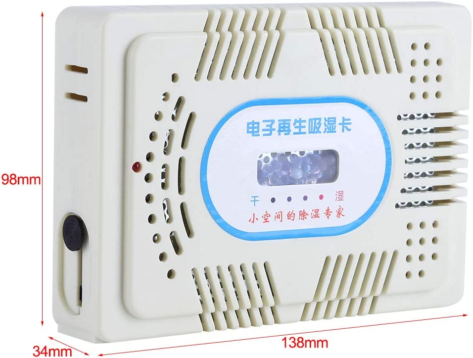 Reuseable recharge Electronic Moisture Absorb Dehumidifier Envirnoment friendly