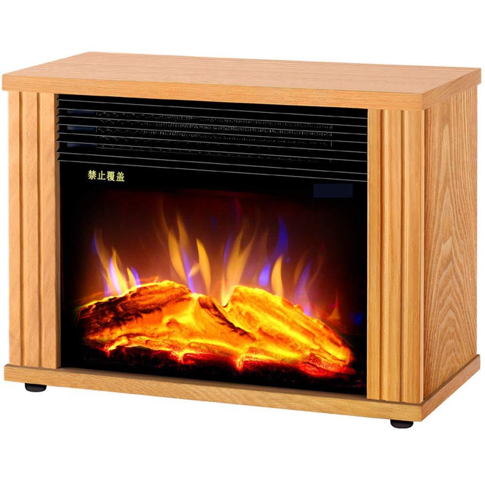 GM HEATER Calentador - Calentador doméstico - Mini Ahorro de energía - Chimenea eléctrica Europea Invierno Llama de simulación Creativa: Amazon.es: Hogar