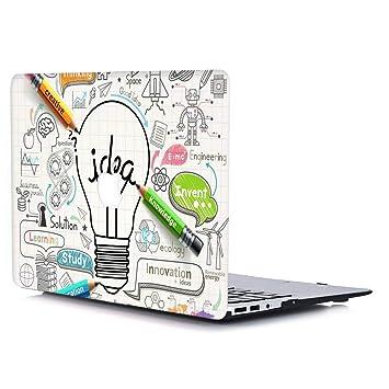 AJYX Funda Rígida para Old MacBook Pro 13 Pulgadas con CD-ROM A1278 (Versión 2012/2011/2010/2009/2008), Carcasa Rígida Protector de Plástico Duro ...